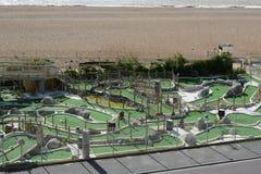 Szalony golf na Brighton nadbrzeżu england Zdjęcia Stock