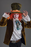 Szalony hatter od wanderland charakteru Fotografia Royalty Free
