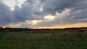 Szalony nieba piękno Obrazy Stock
