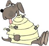 szalony pies ilustracja wektor
