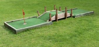 Szalony pole golfowe obraz stock