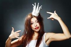 Szalony princess zdjęcia royalty free