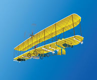 Szalony stary samolot Obraz Stock