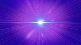 Szalony szybki lot w hyperspace przestrzeń wśród mgławic, purpur gwiazdy i czarny pozaziemski tło Latać szybko ilustracja wektor