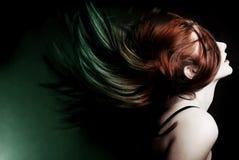 szalony włosy zdjęcia royalty free