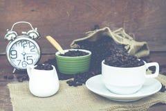 Szalony w miłości z kawą Obraz Stock