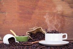 Szalony w miłości z kawą Obraz Royalty Free