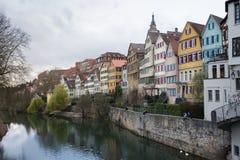 Szalunek chałupy Rozjarzone Lampowe żaluzje Grżą Niemiecki Europejski Starego Ho Obrazy Royalty Free