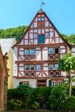 Szalunku Ramowy dom w Moselle dolinie, Niemcy Obraz Stock
