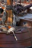Szalunku statek w porcie Obrazy Royalty Free