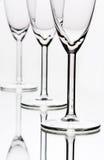 szampańscy szkła Obrazy Royalty Free