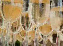 szampańscy szkła obraz royalty free