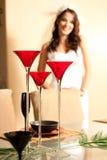 szampański ślub Obraz Royalty Free