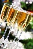 szampański lśnienie obraz stock