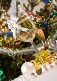 szampański szkło obrazy royalty free