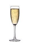 szampański szkło Fotografia Royalty Free