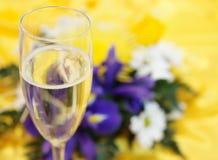 szampańscy kwiaty Zdjęcia Stock