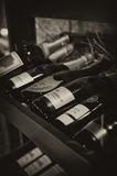 szampański stojak Fotografia Royalty Free