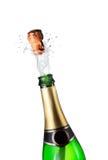 szampański wybuch Fotografia Royalty Free