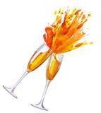 szampan 2 Fotografia Royalty Free