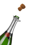szampan butelka szampan Zdjęcia Royalty Free