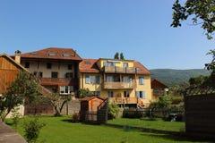 Szampan, Szwajcaria Fotografia Stock