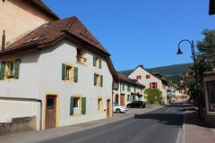Szampan, Szwajcaria Zdjęcie Royalty Free