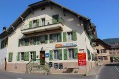 Szampan, Szwajcaria Obrazy Stock