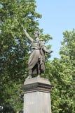 Szandor Petofi statue Royalty Free Stock Photo