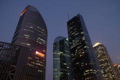 Szanghaj światu centrum finansowe obraz stock