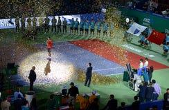 2015 Szanghaj ATP Ćwiczy 1000 Zdjęcia Royalty Free