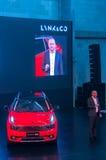 Szanghaj Auto przedstawienie 2017 LYNK & CO 01 samochód Zdjęcie Stock