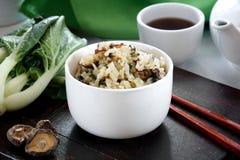 Szanghaj Bok Choy ryż Fotografia Stock