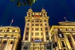 Szanghaj Bund budynki obrazy royalty free