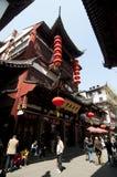 Szanghaj Chenghuangmiao ulica Zdjęcie Stock