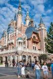 Szanghaj Disneyland w Szanghaj, Chiny fotografia stock