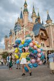 Szanghaj Disneyland w Szanghaj, Chiny obraz royalty free