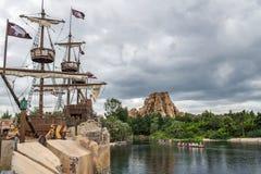 Szanghaj Disneyland w Szanghaj, Chiny zdjęcie royalty free
