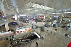 Szanghaj Hongqiao stacja kolejowa Fotografia Royalty Free