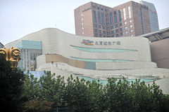 Szanghaj Jiuguang Wydziałowy sklep fotografia royalty free