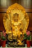Szanghaj Ksitigarbha Porcelanowy Religijny buddyzm ZenTao zdjęcia stock