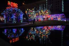 2016 Szanghaj Magicznego lampionu Międzynarodowy Karnawałowy miasto światło Obraz Stock