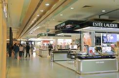 Szanghaj miasta Nowy Światowy wydziałowy sklep Chiny zdjęcia stock