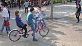Szanghaj miasta park zdjęcie wideo