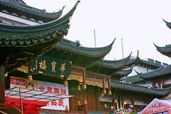 Szanghaj miasteczko God&-x27; s świątynia Fotografia Royalty Free