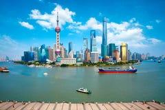 Szanghaj Miasto Zdjęcie Stock