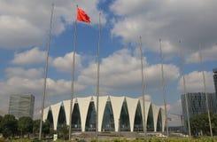 Szanghaj Orientalny centrum sportowe Szanghaj Chiny Fotografia Royalty Free