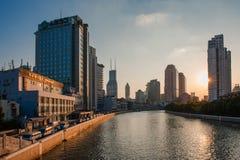Szanghaj Suzhou rzeka obraz stock