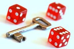 szans przyszłości klucz Zdjęcia Stock