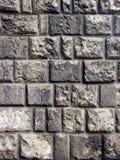szara ścianę cegieł Zdjęcia Stock